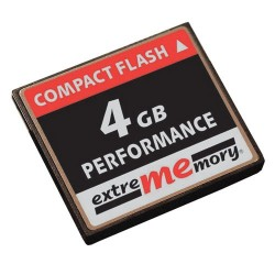 Compact - Flash 4GB PERFORMANCE