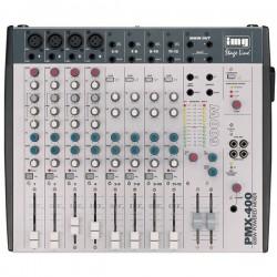 Mixer audio 12 canale (4mono+4stereo) cu amplificare PMX-400