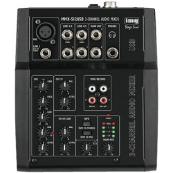 Mixer audio MMX-512USB STAGE LINE