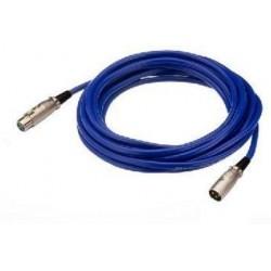 Cablu audio MEC-190/BL XLR M - XLR T STAGE LINE