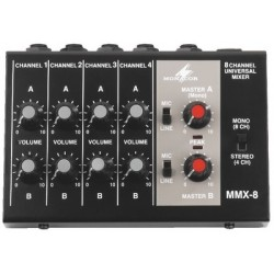 Mixer audio mono MMX-8