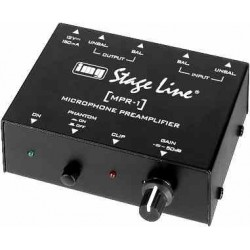 Preamplificator mic/linie MPR-1 STAGE LINE