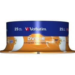 DVD-R GOLD ARHIVAL VERBATIM BULK 25buc