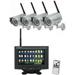 Set de supraveghere wireless DVT-440SET