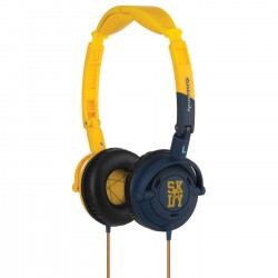 Skullcandy Lowrider Yellow Navy Mic