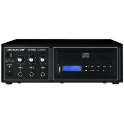Amplificator 15W cu CD PA-802CD MONACOR STAGE LINE