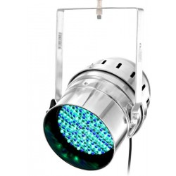 Efect LED PAR64 10mm RGB argintiu