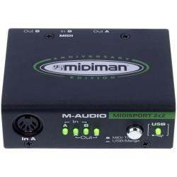 Interfata midi M-Audio MIDISport 2X2 AE USB