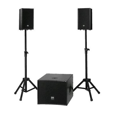 Sistem profesional 2+1 Boxe active Triton-600 900W RMS Stage Line