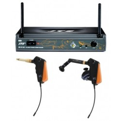 Set microfon wireless instrumente de suflat/chitara JTS UR-816DSET/1