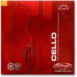 Set corzi violoncel Stagg