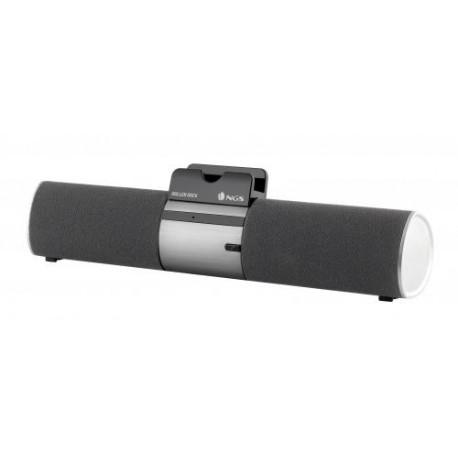 Boxa portabila NGS cu Bluetooth neagra Roller Dock NGS SPKR-BT-ROLLERDOCKBK-NGS