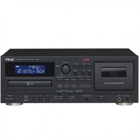 Player audio HiFi caseta / CD Teac AD-850