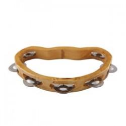 Tamburina lemn 7 clopotei
