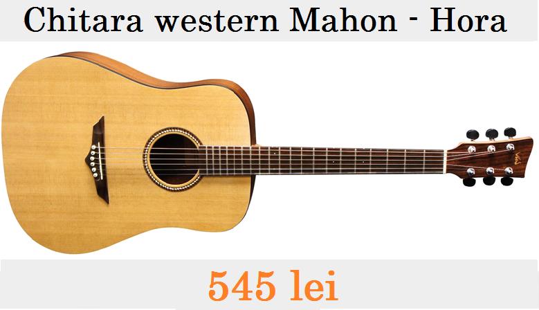 Chitară acustică Hora Western Mahon